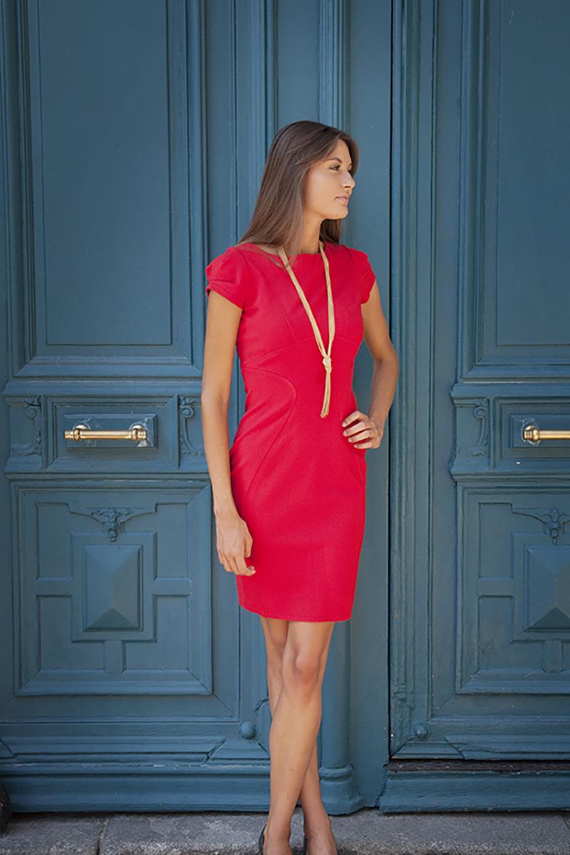 robe-classique-agence-hotesse-accueil-paris