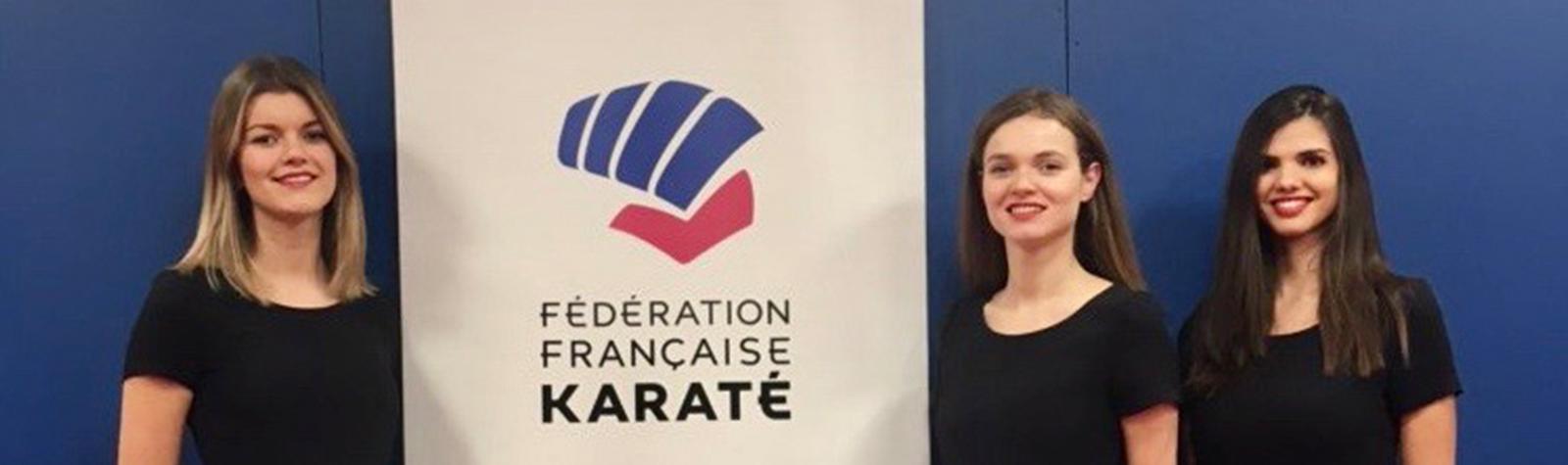 Remise de médailles à l'Open de Karaté