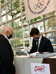 Hote accueil soirée paris Comité national olympique et sportif français(CNOSF)