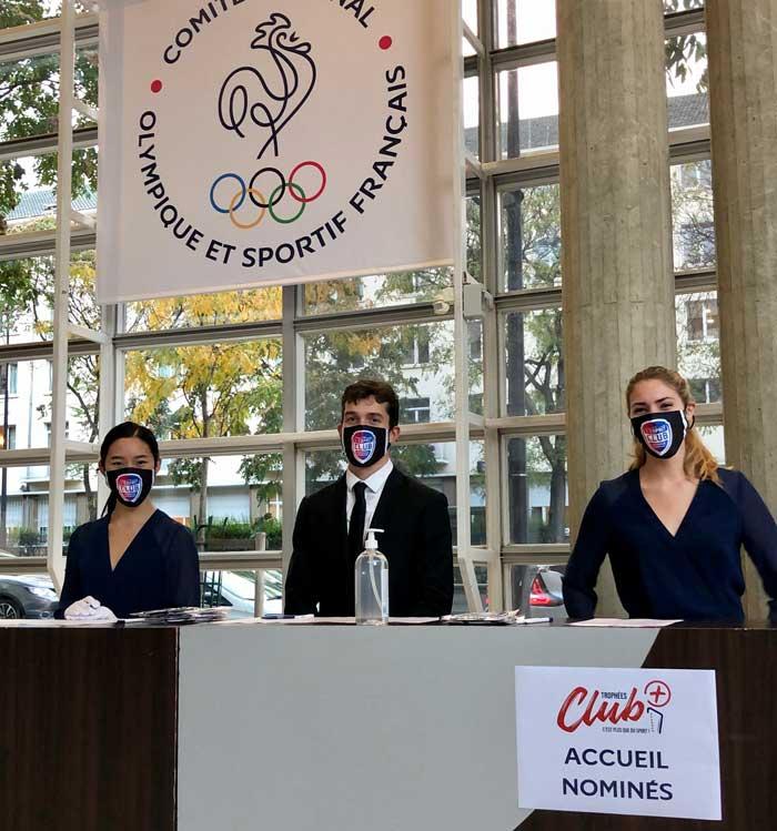 Les équipes Facett accueillent les invité du Comité national olympique et sportif français (CNOSF)